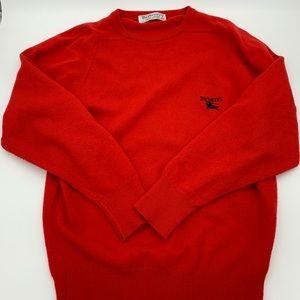 Authentic Burberry 100% Lambswool sweater